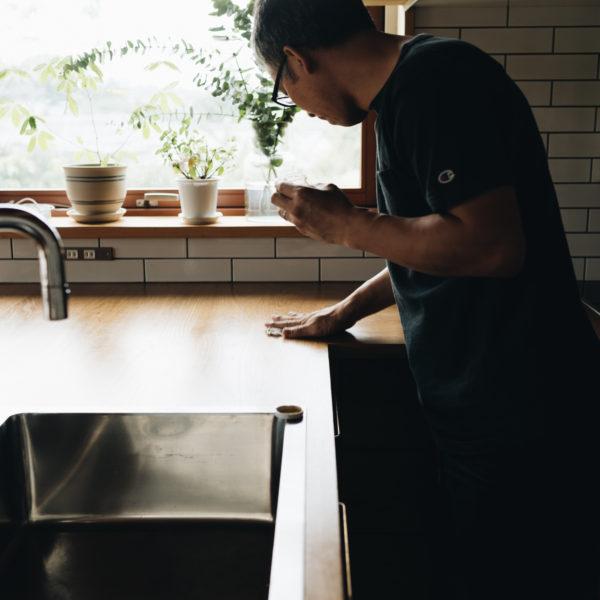 キッチン天板のメンテナンス