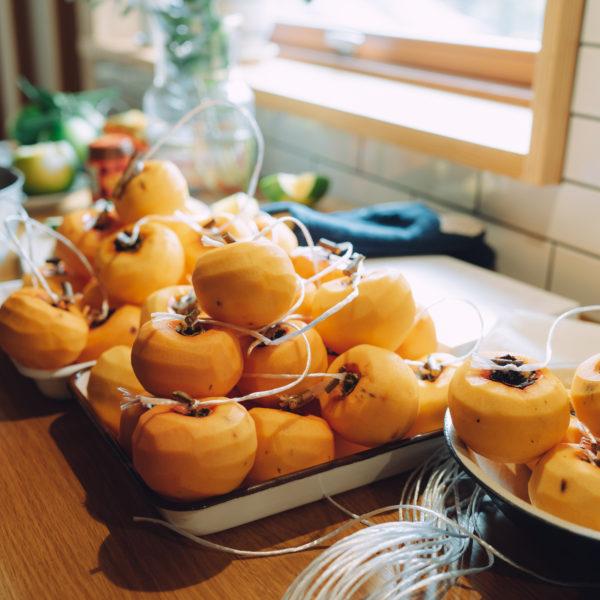 干し柿作り2019